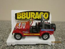 Jeep Renegade CJ-7 1/24 Scale by Burago, Red, Made in Italy, Display Kept