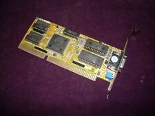 RARE Vintage 16 bit ISA OAK Technology OTiVGA 067 512Kb SVGA Video Graphics card