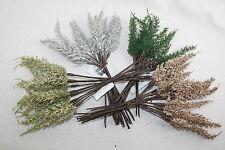 Artificial Fern Spray 12 Stems Christmas Foliage Greenery