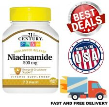 VITAMIN B3 Niacin Niacinamide 500mg NIACIN Energy Release Supplement 110 Tablets