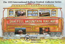 Isle of Man Manx Telecom Phonecard Railway Festival 1995 Collector Series Pack