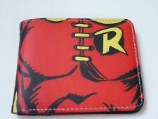 Robin - Batman's sidekick cool  wallet with coin zip. Free P&P