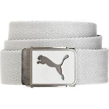 Puma Cuadrado Web Belt White