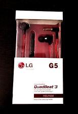 Quad Beat 3 HSS-F630 LG Handsfree Headset Earphones+Mic+Cotton wire