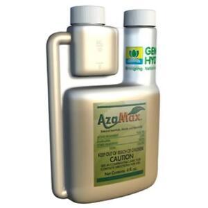 General Hydroponics Azamax 4 oz, 16 oz, 32 oz -ounce pesticide pest control