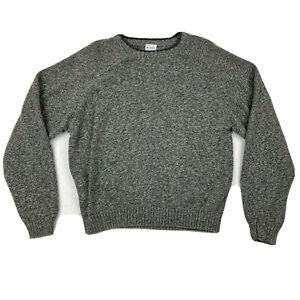 Columbia Sportswear Company Men's Gray Thick Long Sleeve Sweater Size Medium