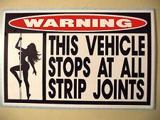 FUNNY WARNING DIESEL DUALLY PICKUP TRUCK CAR ATV SLED STICKER DECAL STRIP J 662
