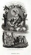 39.LITANIE LAURETANE: ARCA DELL'ALLEANZA. SS.VERGINE MARIA. MADONNA.Acciaio.1850