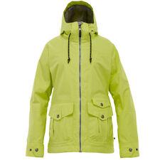 $159 NEW 1o.OOOmm BURTON SKI SNOWBOARD METHOD JACKET WOMENS XXS ALOE