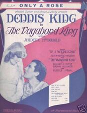 ONLY A ROSE..THE VAGABOND KING..FAMOUS MUSIC..1930..