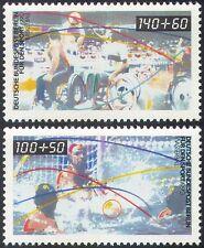 Germania (B) 1990 Sports fondo Sedia a Rotelle/BASKET/PALLANUOTO/Disabilitato 2 V n27522