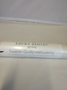 Laura Ashley Wall Paper Lille Stripe Linen Beige  x1 New pearlescent inks