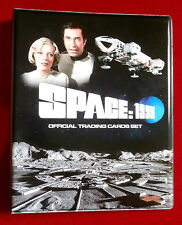 SPACE 1999 ALL 54 BASE CARDS + Official Trading Card Storage Binder, Unstoppable
