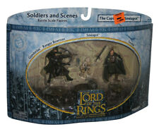 Lord of The Rings Soldiers and Scenes The Capture of Smeagol Toy Figure Set - (G