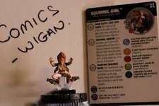 Marvel Heroclix Deadpool and X-Force#039a squirrel girl