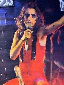 VINTAGE ALICE COOPER POSTER 24 X 33 1/2 (Very Rare) Big O Posters 1970's