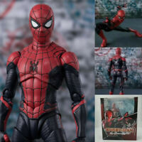 Homecoming Home Made Suit Ver. SHF Spider-Man PVC Gifts Action Figure Toy Cool