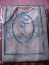 Body intimo LILLIBET lana fuori e cotone sulla pelle neonata 15 mesi nuovo