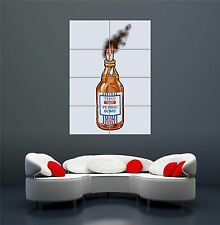 BANKSY TESCO VALUE PETROL BOMB  STREE GRAFFITI ART GIANT POSTER PRINT  WA190
