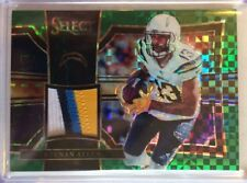 KEENAN ALLEN 2/5 Emerald 4 color Patch 2017 Panini Select CHARGERS