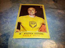 Figurina Panini Campioni dello Sport 1970/71 n°28 PAOLA PIGNI Atletica leggera