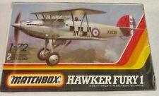 VINTAGE MATCHBOX HAWKER FURY 1 ~ 1:72 SCALE  ~ MIB / SEALED