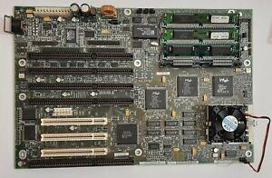 Intel Premiere PCI-II (Plato) Sockel 5 ISA Mainboard + Pentium 100MHz + 32MB RAM