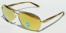 OAKLEY Tie Breaker POLARIZED Sunglasses Gold/24K Gold Iridium NEW Womens  OO4108