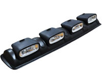 UNIVERSAL 4X4 ROOF TOP BAR DRIVING POD LIGHTS LENS OFFROAD FOG SPOT HEAD LAMPS