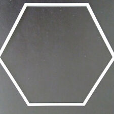 Sizzix Die Cutter HEXAGON SHAPE 8cm x 9.5cm  Thinlits fits Big Shot Cuttlebug