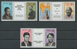 [P588] Cameroon 1969 famous people RARE set VF MNH stamps value $420