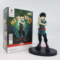 "Banpresto MY BOKU NO HERO ACADEMIA AGE OF HEROES -DEKU- 7.09"" Anime Figure Japan"