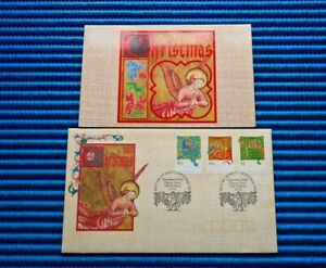 1993 Australia Christmas Peace, Joy and Goodwill First Day Cover & P/ Pack MNH
