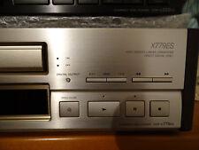 Sony es CD Player cdp-x707es ORO tecnicamente in staccato visivamente ben