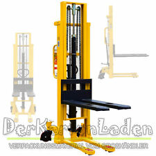 MIDORI Hochhubwagen Handstapler Hydraulik PU 1,0t / 1000kg Hub 3,0m / 3000mm NEU