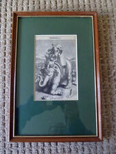"""Rare 17thC Old Master Engraving by Michael Burghers """" Pyrrhus """""""
