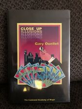 Close Up Illusions by Gary Ouellet Magic Book ~EUC~
