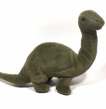 Charmco | Charm Co | Stuffed Green Brontosaurus | Vintage Dinosaur Plush Toy