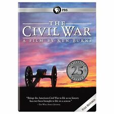The Civil War A Film Directed By Ken Burns (6-DVD),25th Anniversary Edition