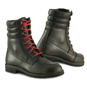 Stylmartin Indian Brown Urban Motorcycle Boots RRP £199 FAST & FREE UK DELIVERY