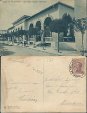 MONTECATINI BAGNI,VIA CROCCO,ANIMATA,VIAGGIATA 1928 -F.P.TOSCANA(PT)44057