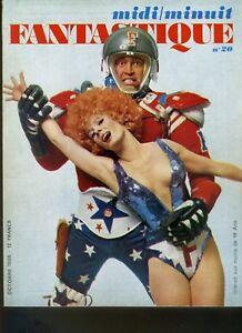 (206A) Midi Minuit Fantastique N° 20 Octobre 1968