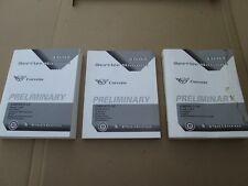 Corvette 1997 PRELIMINARY GM Service Manual 97 Book Complete Set