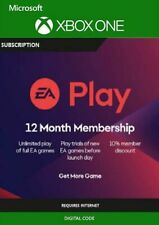 EA PLAY (EA ACCESS) - 12 Month Membership Xbox One (Works Worldwide 😁 )