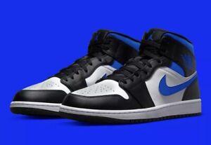 Nike Air Jordan 1 Mid Racer Blue Size 9 Men's (554724-140) *Fast Shipping*