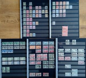 Gibraltar: QV-QEII 10 Page Collection Mint/Used inc Specimen - high SG Cat £100s