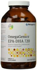 Metagenics OmegaGenics EPA-DHA 720 - 240 gels - New and Sealed - Exp Mid 2019