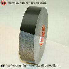 3M Scotch Scotchlite Reflective Striping Tape: 1 in. x 50 ft. (Black)