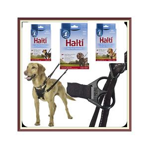Halti Black No Pull Adjustable Comfort Harness Padded Dog Puppy Vest - S / M / L