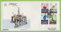 G.B. 1978 Energy set on Abbey First Day Cover, Forties Field, Aberdeen
